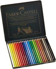 Faber-Castell Polychromos Colour Pencil Tin 24 Colours Professional