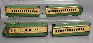 Marx M10000 Vintage O Union Pacific Multi Piece Streamline Set
