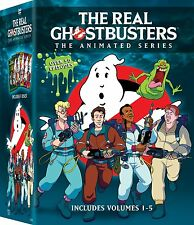 The Real Ghostbusters: Animated Series Complete Volumes 1 2 3 4 5 Boxed DVD Set