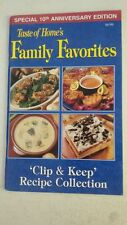 Taste of Home's Family Favorites: Clip and Keep Recipe Collection (Special 10th