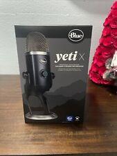 Blue Yeti X - Blackout Professional USB Microphone