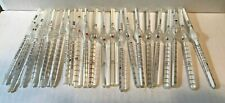 LOT OF 23 PFEIFFER GLASS USA WHITE BLOOD CELL WBC DILUTING PIPETTES