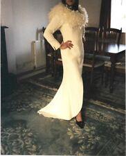 Dawn Eleanor Couture Ivory Silk Wedding Dress Size 12