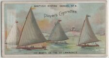 Ice Boats St. Lawrence River Canada Winter Sport  00+ Y/O Trade Card