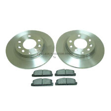 MAZDA PREMACY 2.0 & SPORT GSi GXE 1999-2005 REAR 2 BRAKE DISCS AND PADS SET NEW