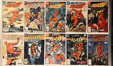The Flash 50+ Books VF+/NM Lot 1987 Vol. 2 Post Crisis #1-44, 4 Annual & Special