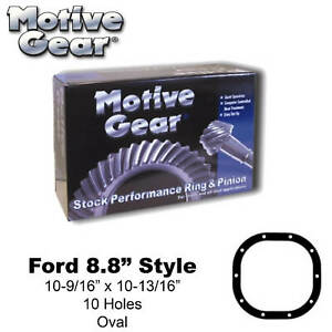 F88456a RingampPinion Set Ford 88 456 Ratio Mustang