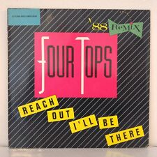 "Four Tops ‎– Reach Out I'll Be There (`88 Remix) (Vinyl, 12"", Maxi 45 Tours)"