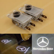 2x LED Ghost Shadow Door Setp Welcome Courtesy Light for Mercedes Benz W210 E280