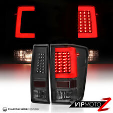 """TRON STYLE"" O.L.E.D STrIp Smoked Tail Light Assembly For 2004-2015 Nissan Titan"