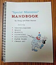 "CLEARANCE--""Special Ministries"" Handbook, 188-pages with illustrations"