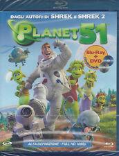 Blu-ray + Dvd **PLANET 51** nuovo sigillato 2009