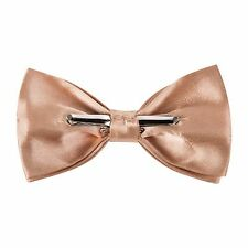 Clip On Pre Tied Bow Tie - Security / Retail / Door - Copper Gold