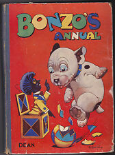 G E Studdy Bonzo's Annual 1947 - 1st Ed 1947 - Illustrated - Nice Copy