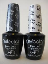 OPI Gelcolor Gel color Top & Base 0.5 oz / 15 ml each Duo Set