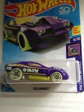 Hot Wheels 2018  Treasure Hunt HOLLOWBACK HW GLOW WHEELS  S/H $ 2.87