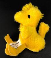 "VTG Knickerbocker Woodstock 5"" Plush Stuffed Animal Toy Peanuts Snoopy Friend"