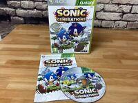 SEGA Sonic Generations (Xbox 360, 2013)