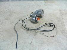 09 Harley FLHX Street Glide Front Left Spot Light Lamp Turn Signal