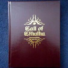 RICHIAMO DI CTHULHU 30th Anniversario Edizione regola LIBRO Horror gotico Cthulu Gioco RPG