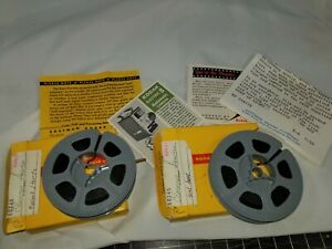 Lot Of 2 Old Rolls of 8mm Travel Home Movies // 1950's - 60's