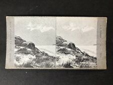 Stereo-View Stereoscopic: New Zealand #A1189: Mt Haidinger Tasman Glacier