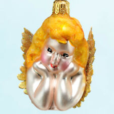 Christopher Radko Darling Angel Ornament 1999 Cupid Valentines Anniversary MWT