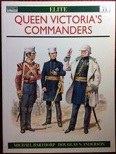 Queen Victoria's Commanders by Michael Barthorp - Osprey Elite 71 - NEW