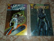 Silver Surfer Wizard #1/2 W/Coa Marvel Comics And Ascension 1/2 W/Coa