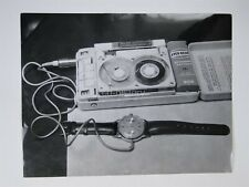 Spy Equipment - Wrist Watch Microphone - 1966 Press Photo By Paul Popper Ltd