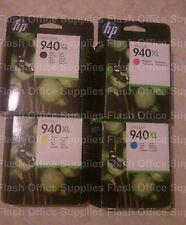 GENUINE HP 940XL EXPIRED Black Cyan Magenta & Yellow VAT INCLUDED SAMEDAY_POST