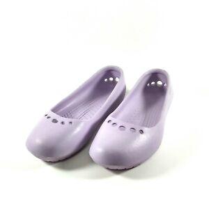 Ausverkauf Prima Damen Crocs Freizeit Flat Ballerina Sommer Strandschuhe