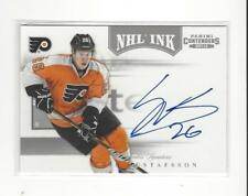 2011-12 Panini Contenders NHL Ink #42 Erik Gustafsson AUTOGRAPH Flyers