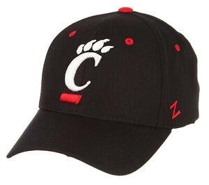 CINCINNATI BEARCATS CINCY NCAA COMPETITOR BLACK SNAPBACK ZEPHYR CAP HAT NEW!