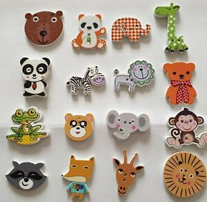 Button Packs - Sealife - Nature - Farmyard + Other Themes - Uk FREEPOST - Crafts