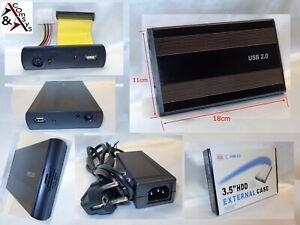 """Comsys 3.5"""" IDE Festplattengehäuse USB Extern Gehäuse f. 3.5 Zoll Festplatte HDD"""