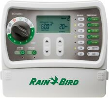 Rain Bird Water Irrigation Timer Control 6 Station Indoor Watering Rain Sensor