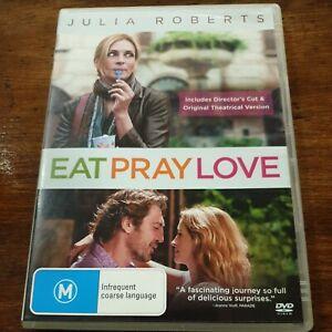 Eat Pray Love DVD R4 Like New! FREE POST