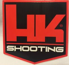 HK SHOOTING Decal Sticker Heckler & Koch HK416 MR556 MR762 P30 USP P7 VP90 SP5k