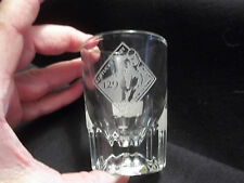 2003 Kentucky Derby Etched 2oz Whiskey Shot Glass by Dillard's Department Store