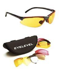 5 LENTI INTERCAMBIABILE TIRO A VOLO Occhiali Eyelevel Occhiali da sole uv 400