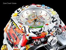 NEW Invicta RESERVE 54MM GRAND S1 Graffiti Quartz Chronograph Hydroplated Watch