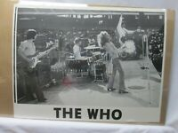 THE WHO BAND  ROCK VINTAGE POSTER GARAGE BAR CNG492