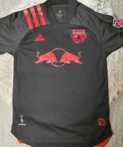 NEW YORK RED BULLS SOCCER JERSEY 2020 AWAY ADIDAS THIERRY HENRY 2XL