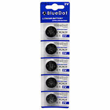 Battery for scales, calculators & more 3V Button Cell 5Pcs Cr2025 Dl2025 Lithium