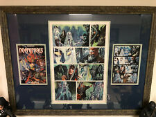 Dan Brereton Nocturnals The Dark Forever Original Painted Page Art *Framed*