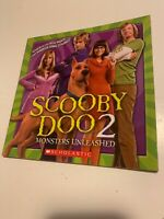 Scooby Doo Two Monsters Unleashed Scholastic Book