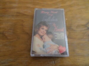 """Mary Hart Sings """"Lullabies from the Heart"""" Used Cassette -Free Domestic Shipping"""