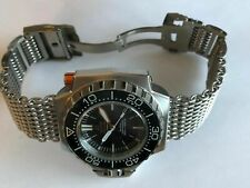 21mm SHARK MESH (WITH removable links) watch strap bracelet