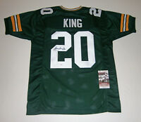 PACKERS Kevin King signed custom green jersey w/ #20 JSA COA AUTO Autographed